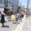2014年 第11回大船まつり その28(パレード・松竹通り/KSUC(鎌倉関谷一輪車クラブ)