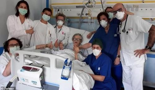 イタリアの95歳女性が新型コロナから完全に回復し奇跡だと話題に(海外の反応)