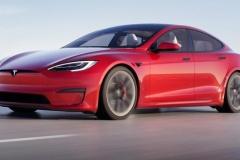 テスラ、高級セダン「モデルS」を刷新 四角いハンドルに世界最速の超高速加速