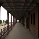 『降雪の赤レンガ倉庫』の画像