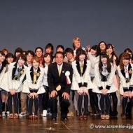 AKB48 島崎遥香、高橋みなみさんが安倍首相をエスコート!!! アイドルファンマスター