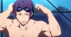 【Free!】松岡凛「俺とお前の差、見せてやるよ」→CV.宮野真守「泳げません」