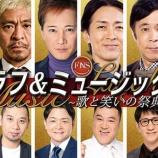 『松本人志と太田光の土下座事件から共演となった和解理由をFNSラフ&ミュージックで告白か』の画像