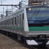 『【過去画】E233系7000番台の試運転』の画像
