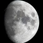 『月齢9.9の綺麗なお月様』の画像