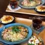 【レシピ】まさかの食材組み合わせ!!かきのチャウダー♡ と 今日のおうちランチ。