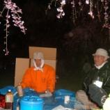 『2005年 5月 2日 例会 兼 花見:弘前市・弘前公園本丸』の画像