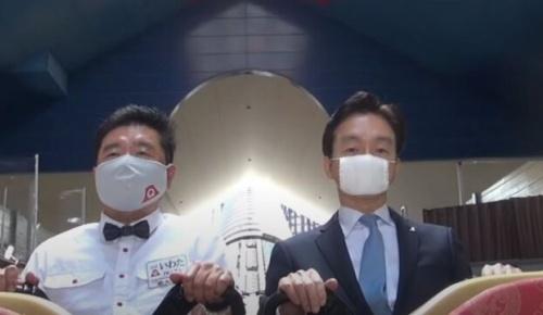 社長自らが富士急ハイランドの「真顔チャレンジ」に挑戦した動画が話題に(海外の反応)