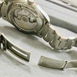 『高級時計のブレス修理もお受けしております。』の画像