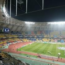 サッカー韓国代表、地元韓国でも300人ほどの観客・・・