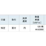 『【XOM】不人気優良株のエクソン・モービルを60万円分買い増しました。』の画像
