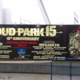 『LOUD PARK(ラウドパーク)15@さいたまスーパーアリーナ ライブレポート2015』の画像