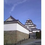 『青い空と鶴ケ城』の画像