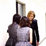 『【乃木坂46】YOSHIKI 紅白楽屋にて生駒&高山とのオフショットを公開!!!』の画像