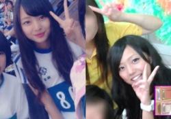 どっちも可愛い! 新内眞衣&梅澤美波の学生時代の画像を比べてみたwww