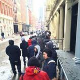 『ニューヨーク、Jordan2×JustDonの行列に警察出動』の画像