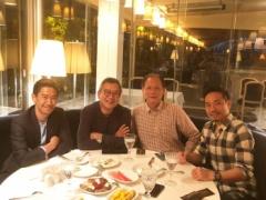 【 画像 】長友佑都、香川真司、村井チェアマン、原博実副理事長が会食!気になる会話の内容は?