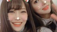 白間美瑠、IZ*ONEカン・ヘウォンとの仲良し動画公開