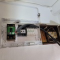 ◆分電盤更新工事 埋込形から露出形に交換しました(特殊案件)Panasonic BQW32342 東京都世田谷区◆