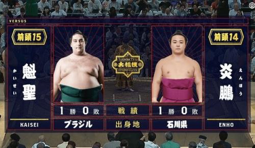 99kg炎鵬の活躍に外国人大相撲ファンの間でも人気急上昇(海外の反応)