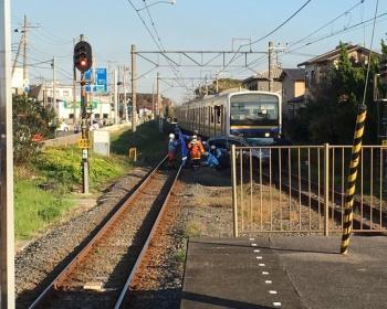 【内房線事故】踏切に車が侵入し電車と衝突(現場画像あり)