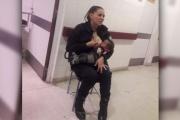 【母乳警官】女性警官、泣き叫ぶ赤ん坊見つけ母乳あげる  アルゼンチン