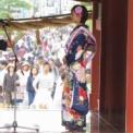 第58回鎌倉まつり2016 その14(ミス鎌倉お披露め・ミス鎌倉2016(野口実穂))