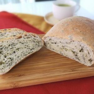 立ち上る爽やかな香り♪紫蘇パン
