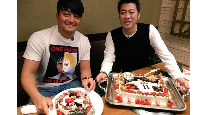【 画像 】巨人・上原浩治&澤村拓一の合同誕生日会!澤村のファッションセンスwww