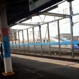 『戸田公園駅で本日開通の北陸新幹線を見ました!』の画像
