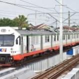 『【元ジャカルタの電車】架線下DC、快速プラメクス最後の力走』の画像