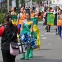 2018年横浜開港記念みなと祭国際仮装行列第66回ザよこはまパレード その55(杉浦紀子バトンスタジオ)
