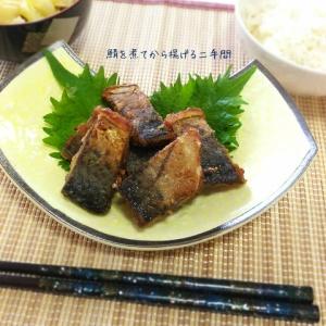 じっくり煮てからカリっと揚げる!鯖の煮物の唐揚
