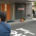 本社ビルで「仮面ライダー」の撮影がありました