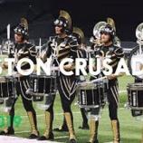 『【DCI】ドラム必見! 2019年ボストン・クルセイダーズ・ドラムライン『2019年DCI』動画です!』の画像
