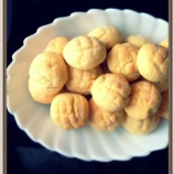『メロンパンみたいなクッキー作るよ!』の画像
