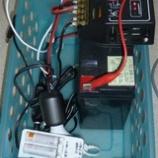 『窓辺の太陽光発電 第3号機のバッテリーがへたった。』の画像