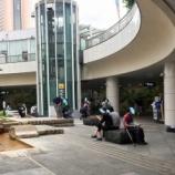 『浜松駅のバスターミナル噴水付近が人だらけ!何かと思ったらポケモンGOのレイドバトルでルギアと対戦できるイベントが開催されてたらしい』の画像
