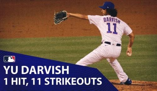 ダルビッシュが1安打11奪三振の好投でメジャー単独トップの7勝目 (海外の反応)