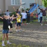 『8月1日 8区のラジオ体操(第2幼児公園)』の画像