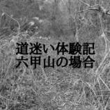 『六甲山でまさかの遭難。』の画像