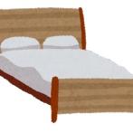 ベッドで寝るのに慣れすぎてしまったネッコの寝相wwwwwwwwww