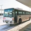 2019年12月23日旭川電気軌道 77系統空港線(旭川空港~6条9丁目)