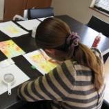 『アートセラピー日記(パステル教室)ものすごい浄化した日』の画像