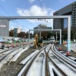『富山駅の工事もどんどん進む』の画像