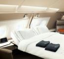 機内スイートにダブルベッド、シンガポール航空が新客室を披露