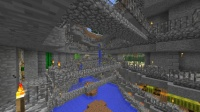 ピラミッド区の峡谷を拡張 (1)