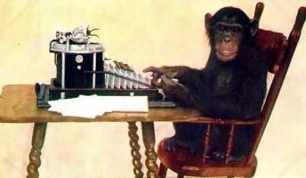 理論上は可能なことを言ってけ『猿が適当にタイプするとシェイクスピアの作品ができあがる』等