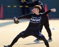 阪神4年目の横山が初ブルペン「ラストチャンス」