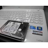 『NEC LaVie LS150/D ハードディスク交換修理』の画像